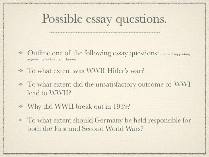 Propaganda Ww2 Essay Question - image 8