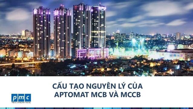 www.pmcweb.vn CẤU TẠO NGUYÊN LÝ CỦA APTOMAT MCB VÀ MCCB