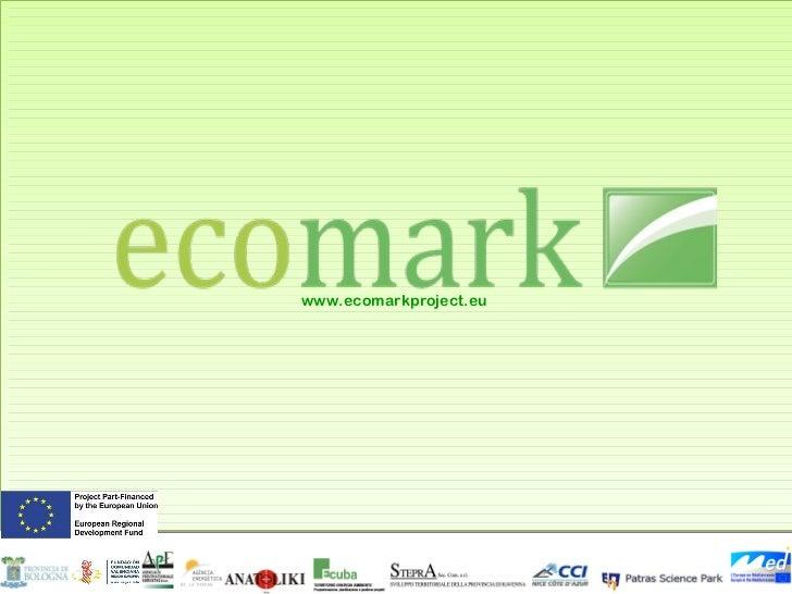 www.ecomarkproject.eu