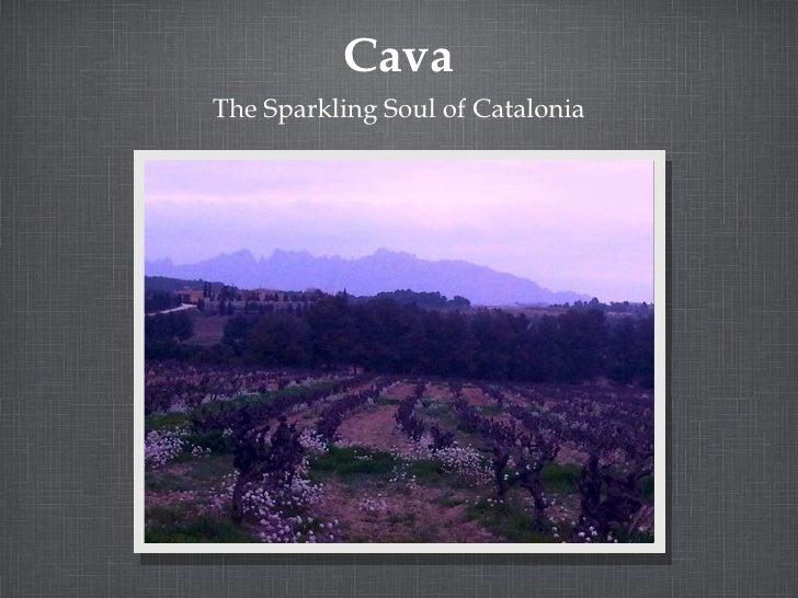 Cava <ul><li>The Sparkling Soul of Catalonia </li></ul>