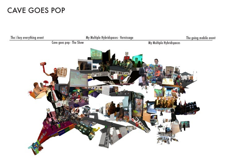 CAVE GOES POP   The i buy everything event                              My Multiple Hybridspaces - Vernissage             ...