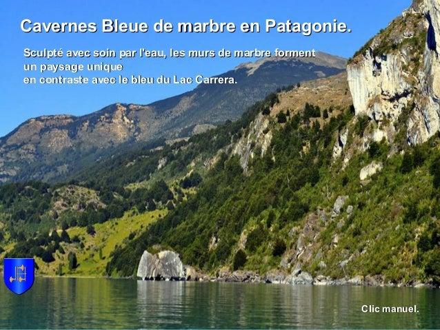 Cavernes Bleue de marbre en Patagonie.Cavernes Bleue de marbre en Patagonie. Sculpté avec soin par l'eau, les murs de marb...