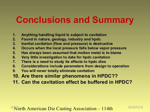 an overview of cavitation Cavitation is the formation and subsequent collapse of vapour bubbles in a flowing liquid and is often responsible for significant damage flow equipment such as pumps this article will provide an overview of cavitation and provide insight into the identification and prevention of cavitation conditions through the calculation of net positive suction head (npsh.