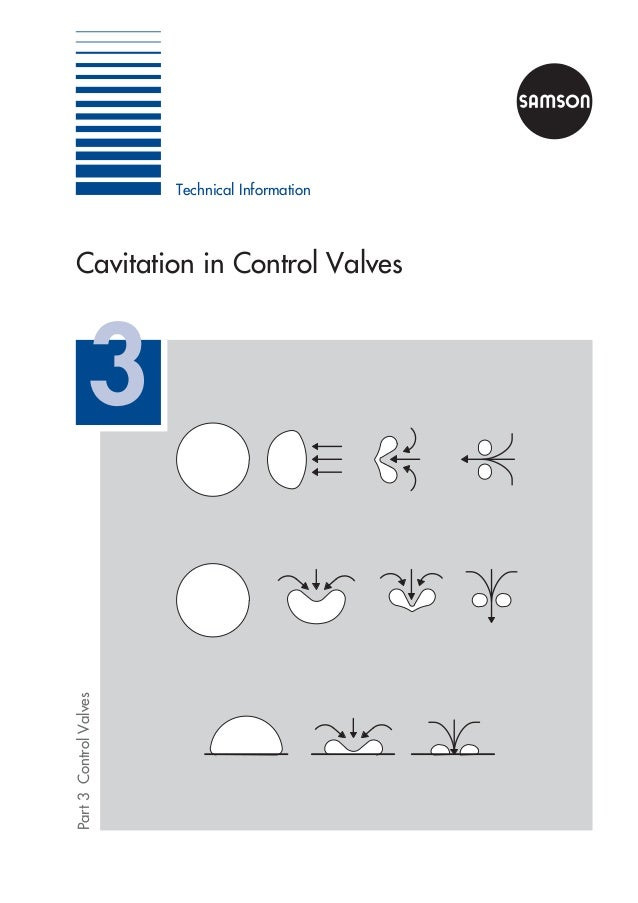 Technical Information Part3ControlValves Cavitation in Control Valves 3