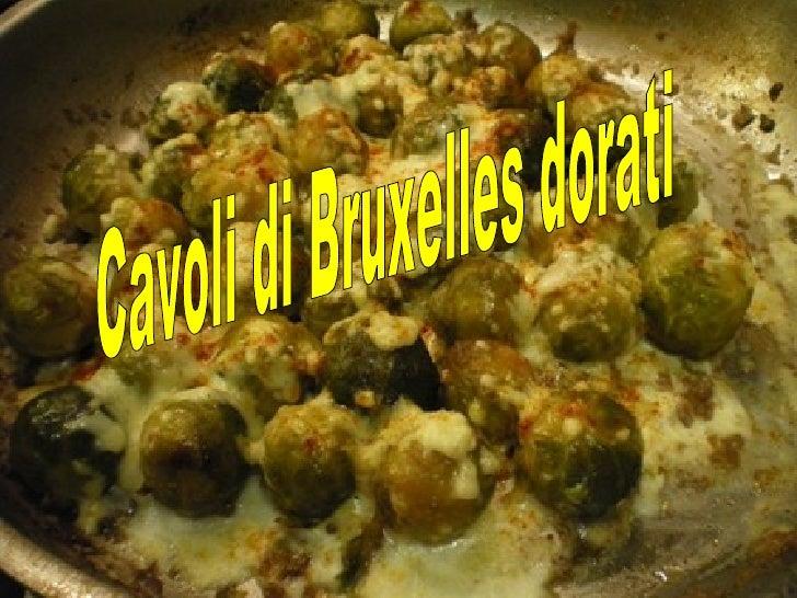 Cavoli di Bruxelles dorati