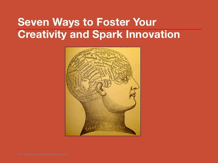 How to foster creativity in the workplace