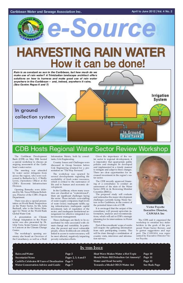 Cawasa newsletter 2nd quarter 2012