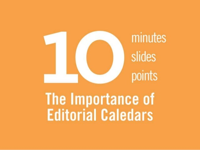 Importance of Editorial Calendar in Digital Marketing