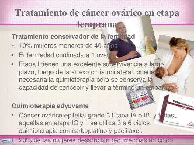Ca y tumores de ovario - Tratamiento para carcoma ...