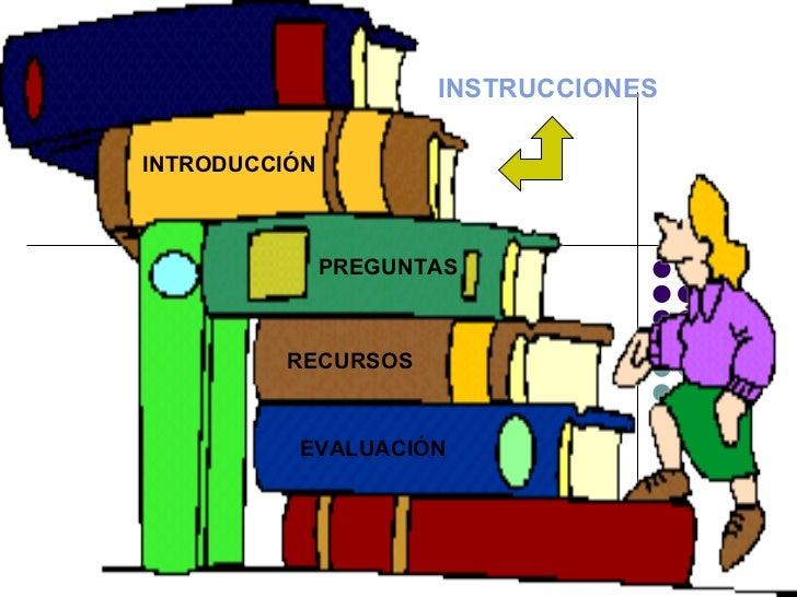 INTRODUCCIÓN INSTRUCCIONES PREGUNTAS RECURSOS EVALUACIÓN