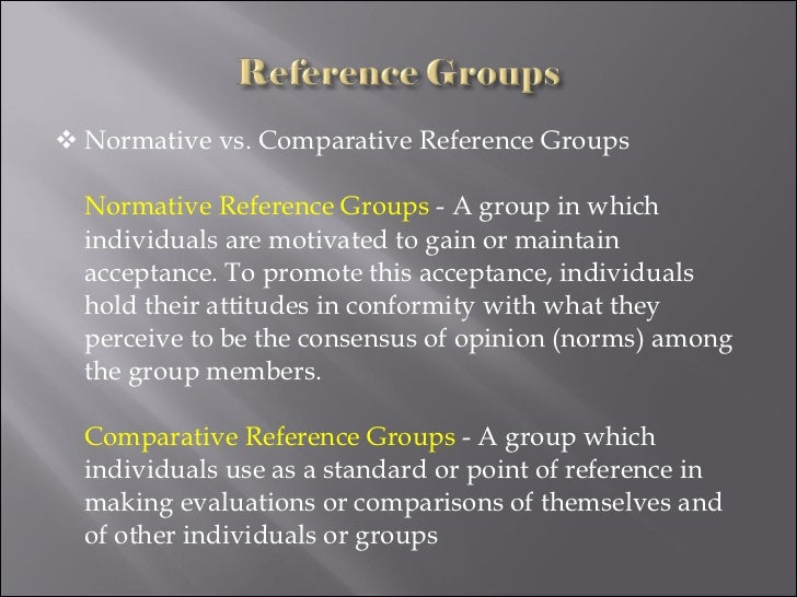Chapter 14 reference groups and family ppt download.
