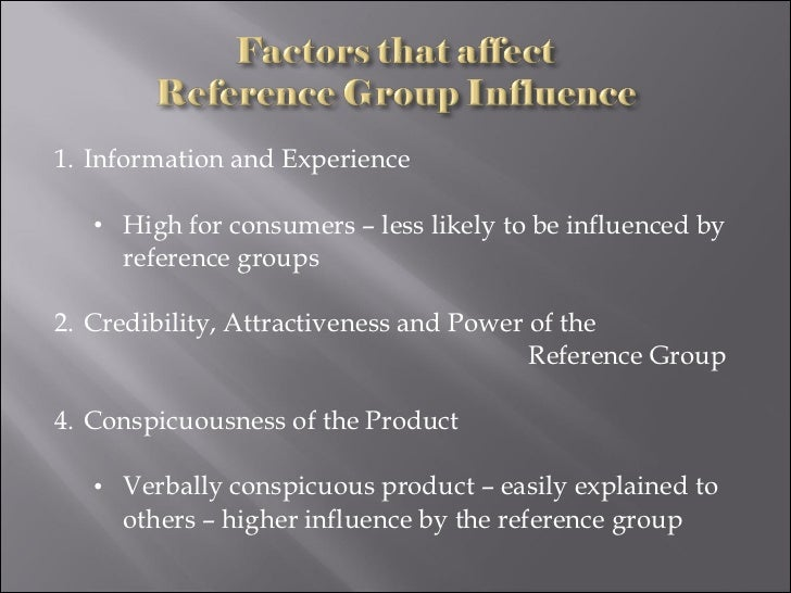 Group influences on consumer behavior ppt download.