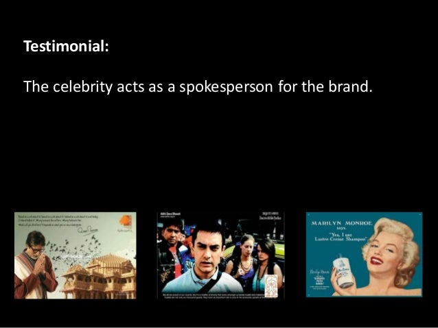 5 Reasons Why Celebrity Endorsements Work! – Strategic ...