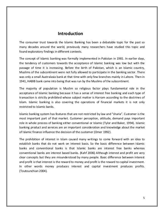 Consumer behaviour towards the islamic banking