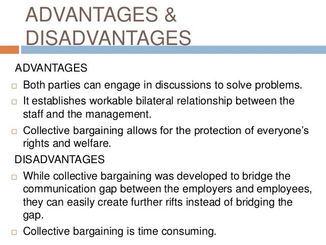 The Advantages and disadvantages of principled bargaining Essay Sample