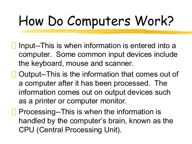 how does computer work In windows 8, 7, vista, and xp, you can lock your workstation manually or by using your screen saver note: the following may not cover all methods or variables pertaining to your computer, such as whether fast user switching is enabled or disabled.