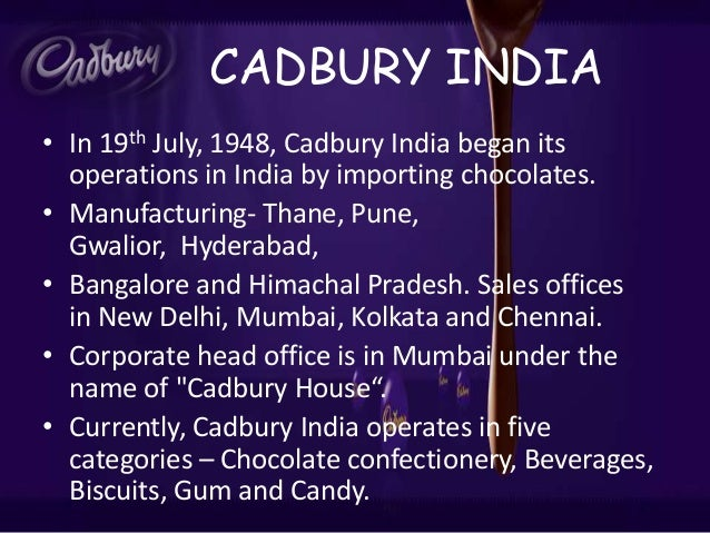 cadbury operation strategy Cadbury itself is canada's most successful confectionery brand in an  and  parcel of kraft's recent decision to overhaul its operating platform,.
