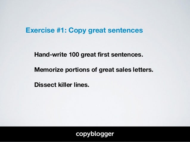 write a great first sentence thoughtco autos post