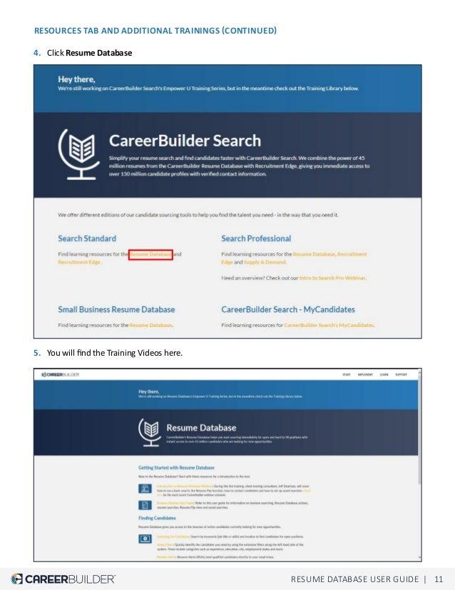 careerbuilder quick guide