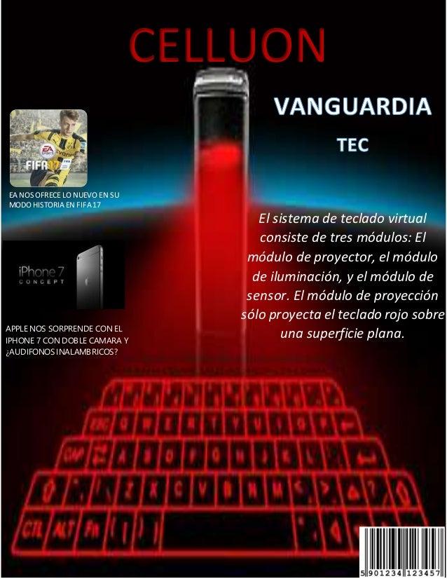 k El sistema de teclado virtual consiste de tres módulos: El módulo de proyector, el módulo de iluminación, y el módulo de...