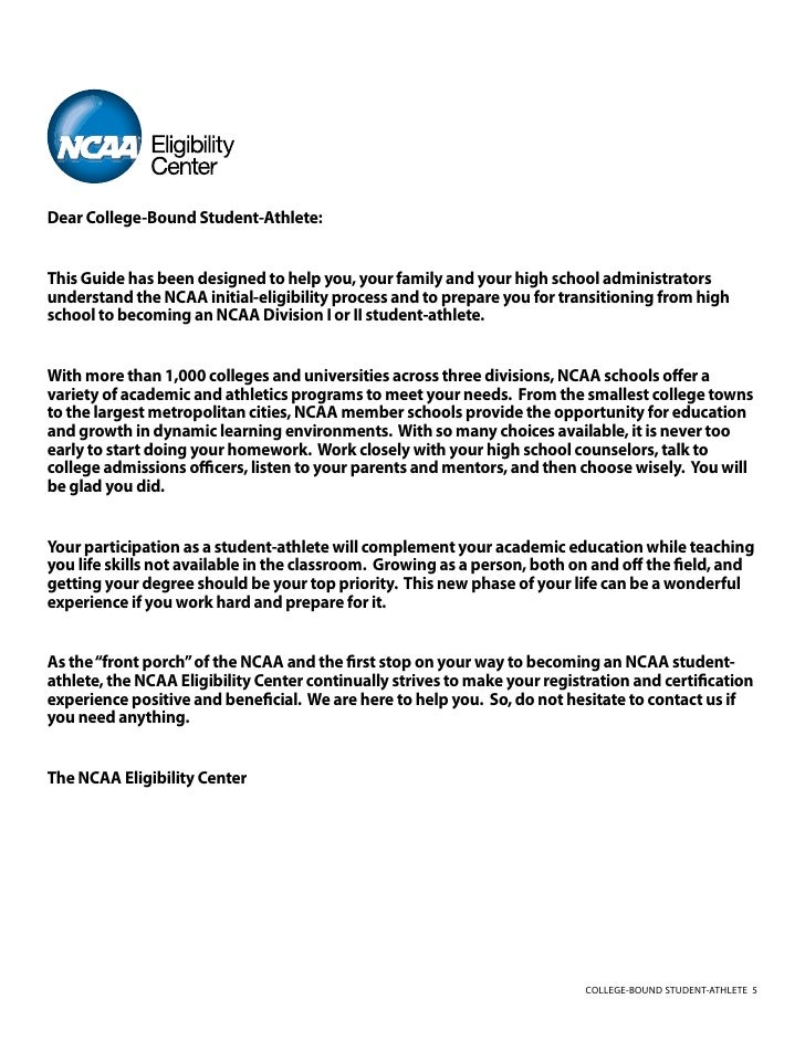 2010 11 College Bound Student Athlete Guide