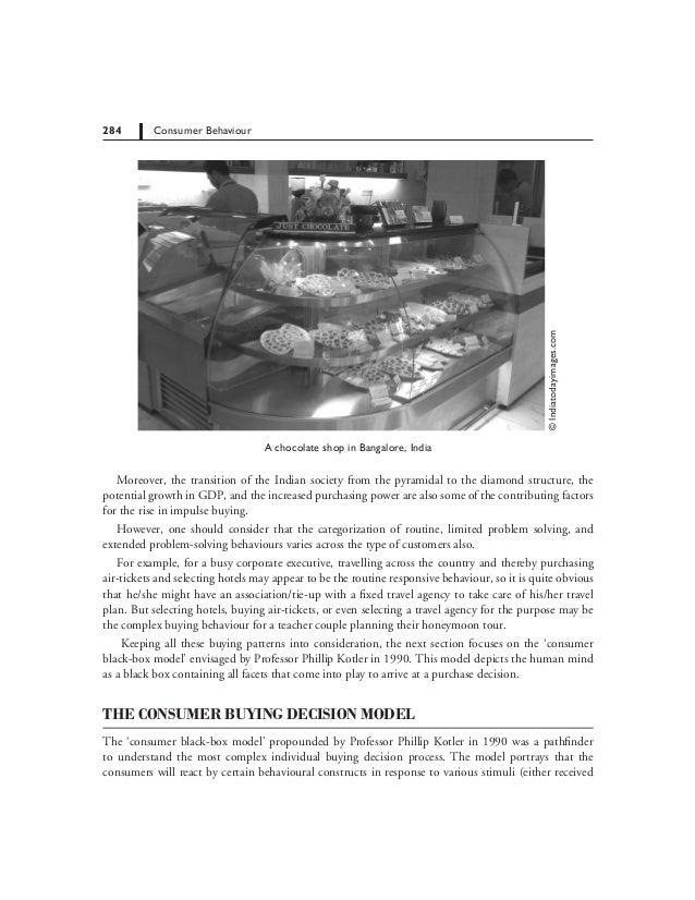 consumer buying behaviour towards chocolates pdf