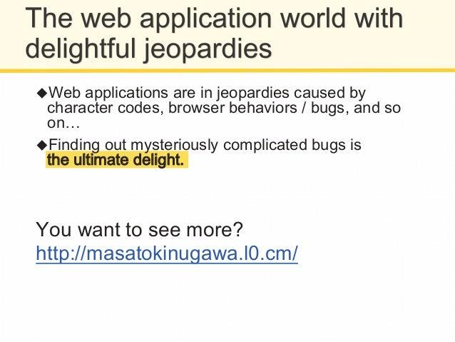 What I want to do: Seeking vulnerabilities   FFoouunndd ssoo lloott!! Soon after, GGooooggllee llaauunncchheedd bu...