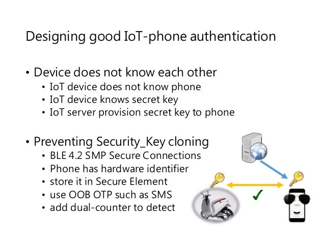 CB16] BLE authentication design challenges on smartphone controlled …
