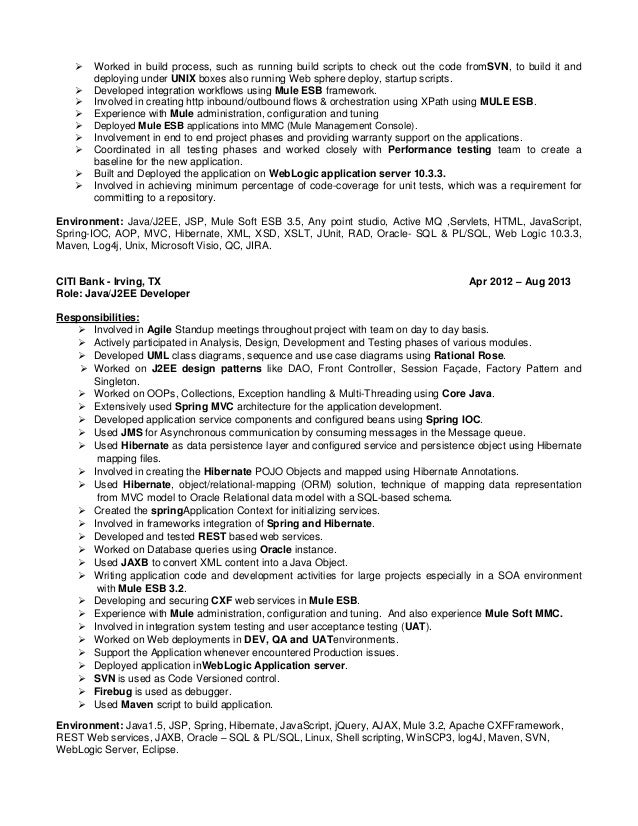 Ram Kumar - Sr  Certified Mule ESB Integration Developer
