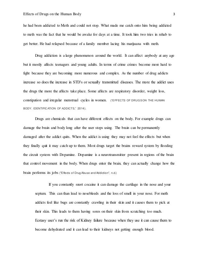 essay on my body for class 1