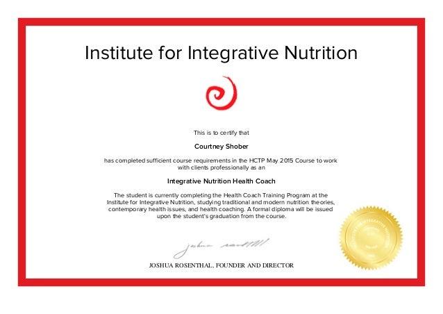 IIN mid-course-certificate