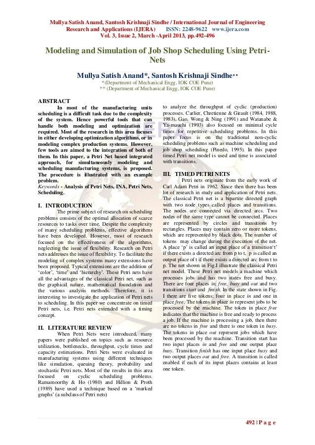Mullya Satish Anand, Santosh Krishnaji Sindhe / International Journal of EngineeringResearch and Applications (IJERA) ISSN...