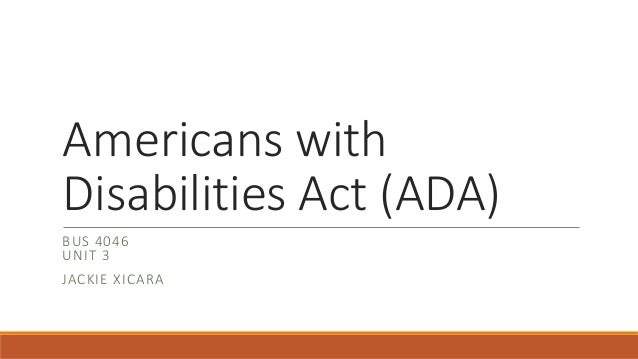 proposed policy changes for the americans with disabilities act Doj rescinds protections afforded by americans with disabilities act  notices  of proposed rulemaking related to titles ii and iii of the americans with   psychology in the age of trump: does the goldwater rule still apply  the doj , health care providers may not make substantial changes to improve.