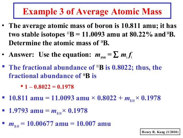 Gc s008 massmole 11 example 3 of average atomic mass urtaz Gallery