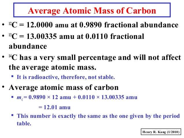 Gc s008 massmole average atomic mass of carbon urtaz Choice Image