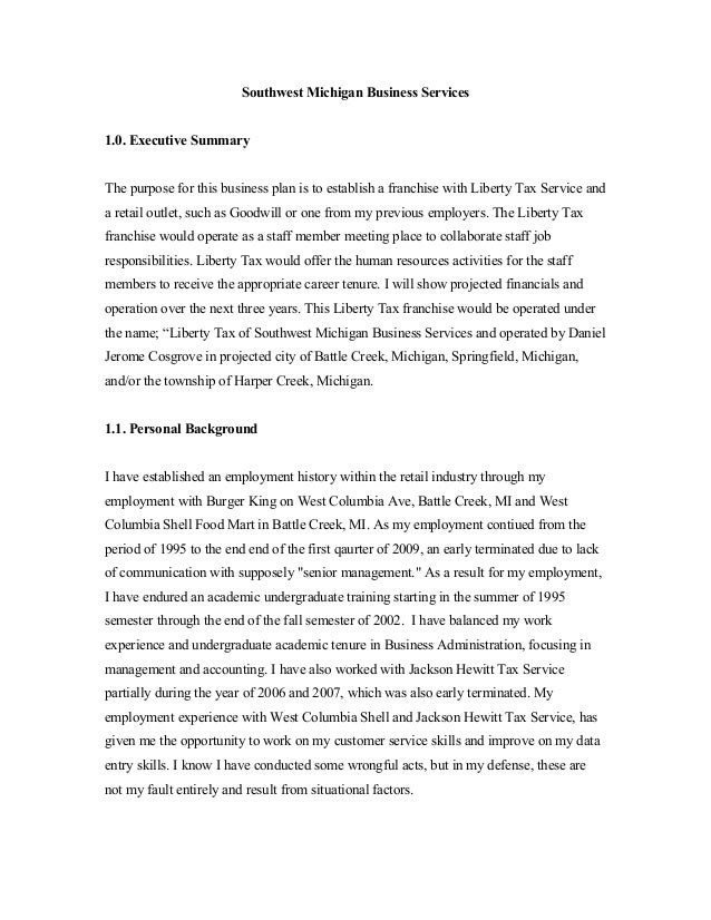 businessplan2014a. Resume Example. Resume CV Cover Letter