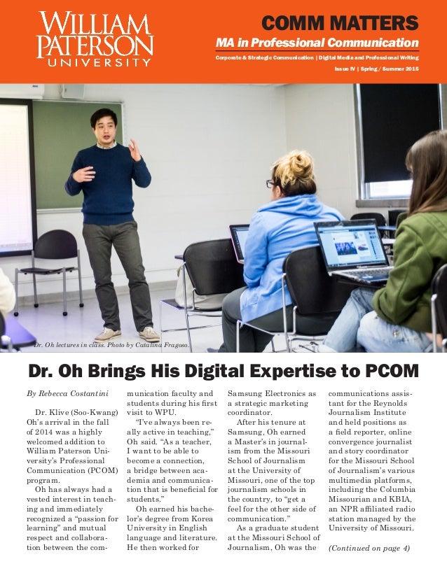 PCOM Spring Newsletter