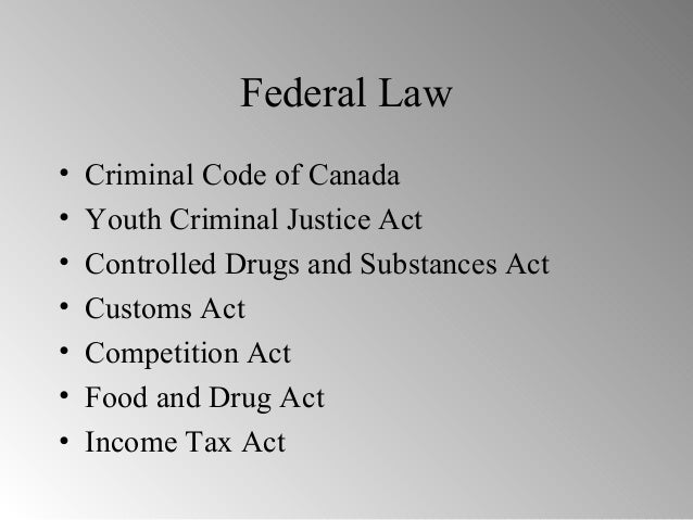 youth criminal justice act canada pdf