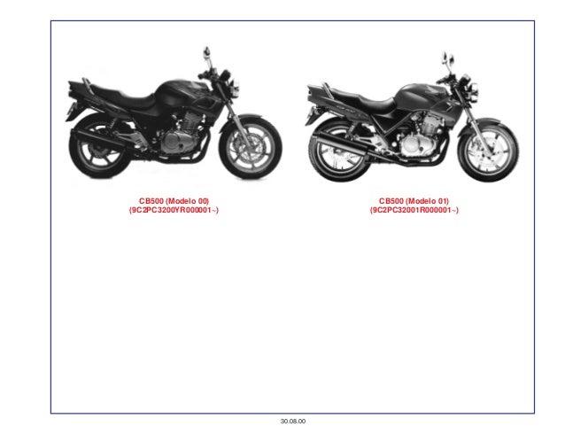 Manual Moto Cb500 01