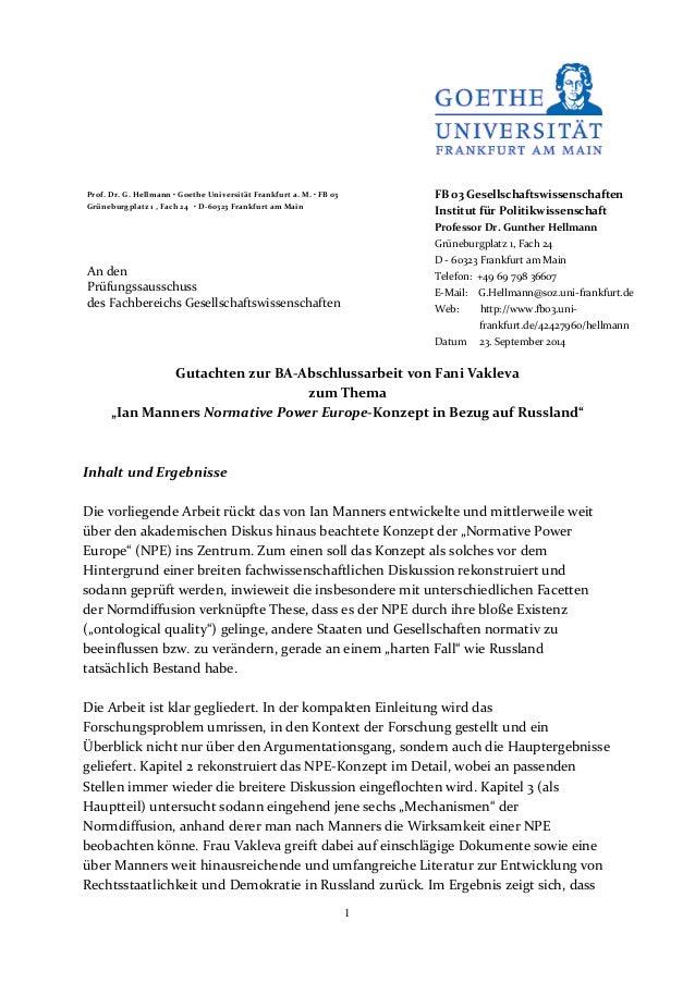 Bachelorarbeit fb 03 uni frankfurt interessante bachelorarbeitsthemen bwl