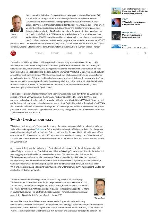 Ungeahnte Traffic-Riesen - ADZINE – Magazin für Online-Marketing Slide 2
