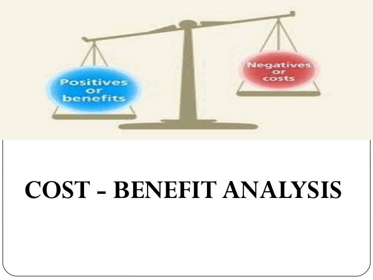 cost-benefit analysis, Modern powerpoint