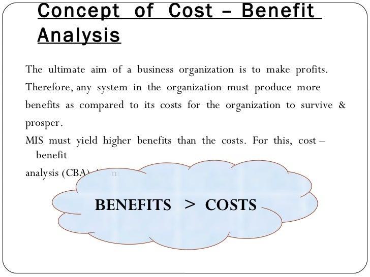 Cost-Benefit Analysis Slide 2