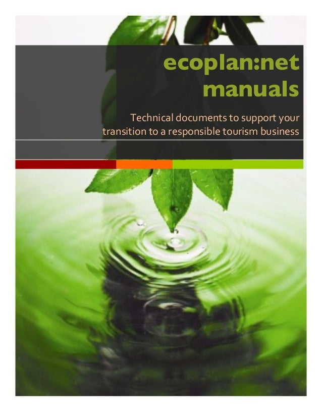 Lorem  Ipsum   ecoplan:net manuals Technical  documents  to  support  your   transition  to  a  respo...