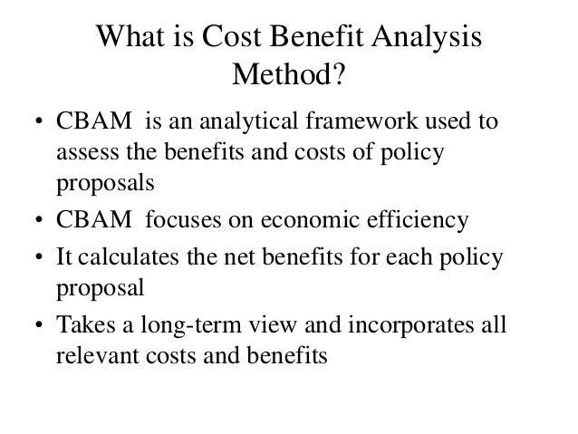 Cost Benefit Analysis Method Slide 3