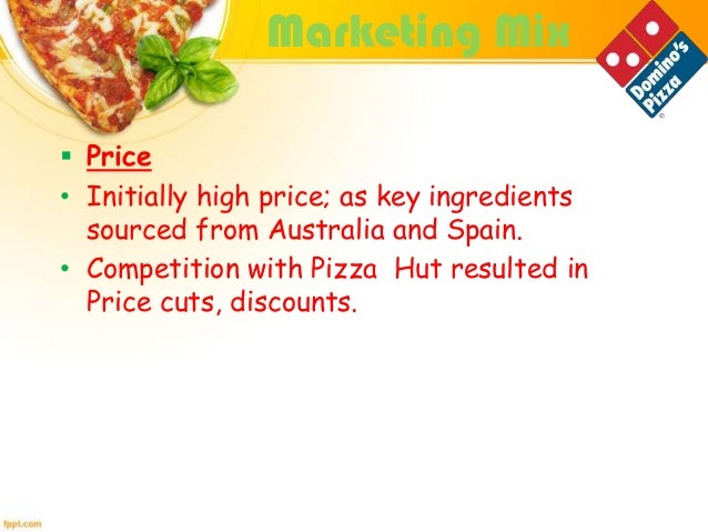 pizza hut recommendation marketing mix Differentiating localization-based marketing strategy in emerging and pizza hut as a marketing mix which consists all the important thing that the company.