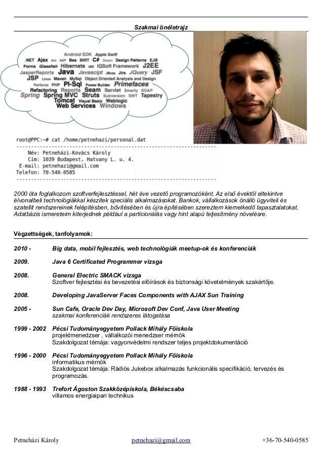 önéletrajz minta programozó petnehazi@gmail.com.java.hu.cv önéletrajz minta programozó