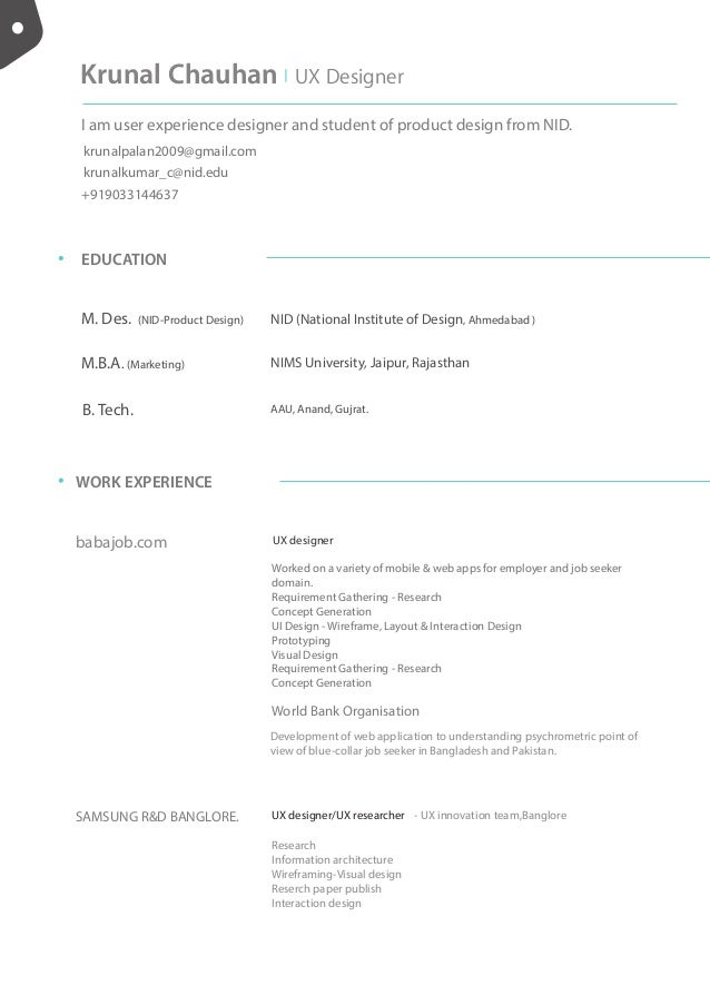 updated resume 2 page
