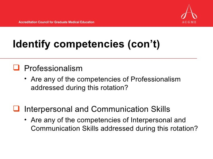 competence based curriculum