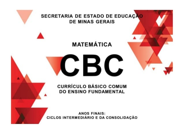 7 1- Introdução A presente revisão do CBC não pretende alterar sua concepção ou estrutura. A essência de nossa matriz curr...
